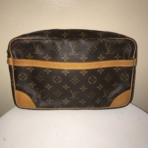 Authentic Louis Vuitton compiegne 28 clutch case